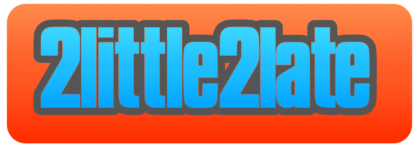 2little2late Logo
